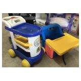 Highchair and Push Toy