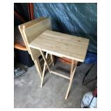 Five TV Tray Tables