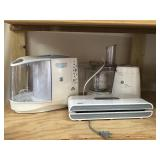 Selection of Kitchen Appliances, GE Food Processor