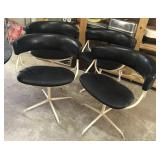 Very NICE Set of Four MCM Dining Chairs