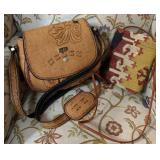 Leather Detailed Purse with Yedahali