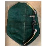 Vintage Archery Bow with Case