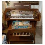 Lowrey Electronic Organ with Bench