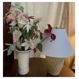 Decorative Vase with Flowers and
