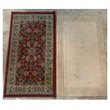 Two Small Area Rugs