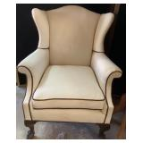 Antique Wingback Chair with Claw
