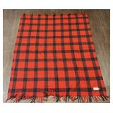 Filson Garment 100% Virgin Wool Blanket