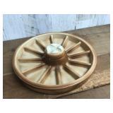 Ceramic Wagon Wheel Ashtray