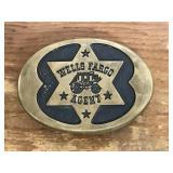 Wells Fargo Agent Belt Buckle