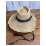 Woven Hat with Hat Band