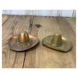 Two Brass Sombrero