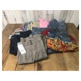Selection of Womens Pants and Shorts