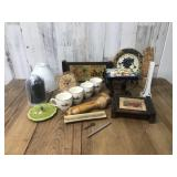 Collectible Lot of Home Decor, Clocks,