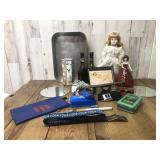 Collectable Lot of Wine Bottles, Baby Doll,