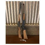 Three Vintage Guns
