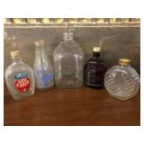 (5) Selection of Corked Jars