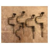 Selection of Vintage Hand Drills