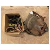 Horse Saddle with Accessories