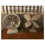 Vintage Heater and Fan
