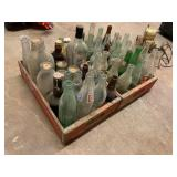 Selection of Vintage Bottles in RC and Coca-