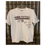 Autographed Texas A&M Football Shirt and