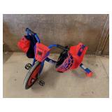 Razor Spider Man Rip-Rider 360 with Spider-