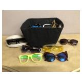 Selection of Glasses and Sunglasses