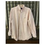 Ralph Lauren Size 17-34 Button Up Shirt