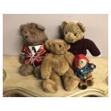 Selection of Bear Plush