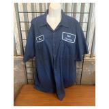 "Size XL Hood Industries ""Paul"" Button Up Uniform"