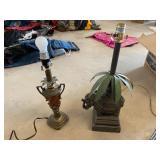 Two Lamps - No Shades
