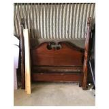 Full/Queen Solid Wood Bed Frame