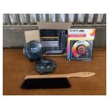 Selection of CDs and Sony Disc Cleaners
