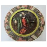 "ROYAL DOULTON ""THE BOOKWORM"" PLATE"
