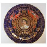 PLATE COMMEMORATING QUEEN ELIZABETH CORONATION