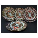 4 ROYAL CROWN DERBY LUNCHEON PLATES