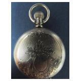 ANTIQUE ELGIN HUNTING CASE POCKET WATCH