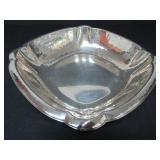 830 SILVER ART DECO HAND-HAMMERED BOWL