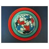 "CLARICE CLIFF FANTASQUE PLATE in ""BROTH"" PATTERN"