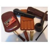 ASSORTMENT OF CIGAR/PIPE ITEMS