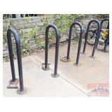 5 Steel Bike Racks.