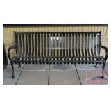 Nice Metal Outdoor Bench.