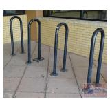 4 Steel Bike Racks.