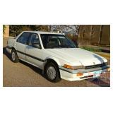 1986 Honda Accord 4 Door Sedan.