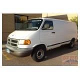 1998 Dodge Ram Handicap Accessible Van.