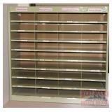 Metal Organizer Shelf.  36X38X13.