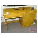 Pine Student Desk. 29X44X18.