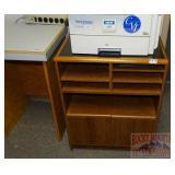 Really Nice Oak Printer/Fax Cabinet.