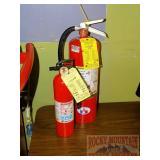 2 Fire Extinguishers.