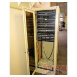 Server Rack w/ Cat5 Switches